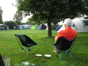 De minicamping in de buurt van Doesburg