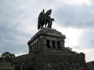 Het Kaiser-Wilhelm-Denkmal in Koblenz