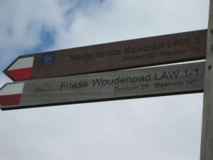De start bij Lauwersoog