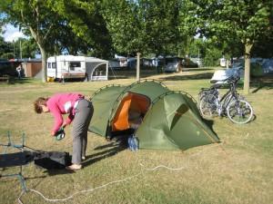 De camping in Leeheim