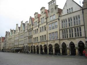 Mooie gevels in Münster