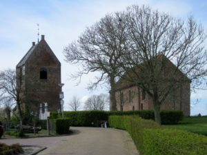 De kerk van Ezinge